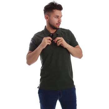 Îmbracaminte Bărbați Tricou Polo mânecă scurtă Key Up 255QG 0001 Verde