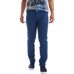 Îmbracaminte Bărbați Pantalon 5 buzunare Sei3sei PZV17 71339 Albastru