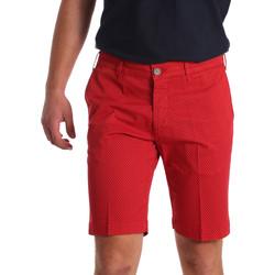 Îmbracaminte Bărbați Pantaloni scurti și Bermuda Sei3sei PZV132 71336 Roșu