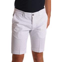 Îmbracaminte Bărbați Pantaloni scurti și Bermuda Sei3sei PZV132 71336 Alb