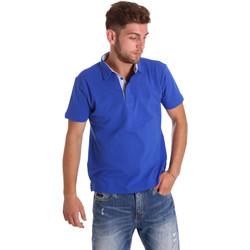 Îmbracaminte Bărbați Tricou Polo mânecă scurtă Bradano 000116 Albastru
