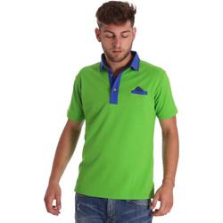 Îmbracaminte Bărbați Tricou Polo mânecă scurtă Bradano 000114 Verde