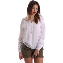 Îmbracaminte Femei Topuri și Bluze Gaudi 73BD47209 Alb