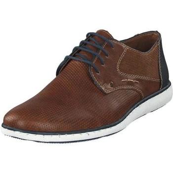 Pantofi Bărbați Pantofi Derby Rieker Marron Navy Flats Brown