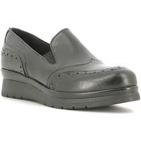 Pantofi Femei Mocasini Rogers 1522 Negru