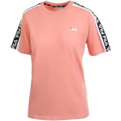 Îmbracaminte Femei Tricouri mânecă scurtă Fila 687686 Roz