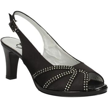 Pantofi Femei Sandale  Grace Shoes E7793 Negru
