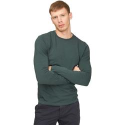 Îmbracaminte Bărbați Tricouri cu mânecă lungă  Gas 300187 Verde