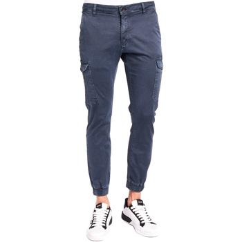 Îmbracaminte Bărbați Pantaloni Cargo Gaudi 921BU25011 Albastru
