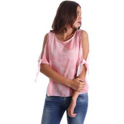 Îmbracaminte Femei Topuri și Bluze Fornarina BE17T532CA11C5 Roz