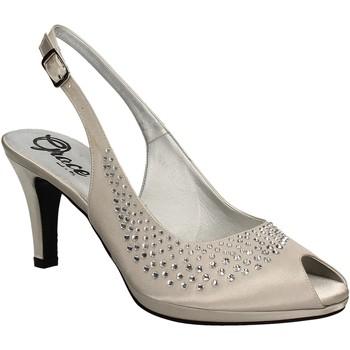 Pantofi Femei Sandale  Grace Shoes 3025 Gri