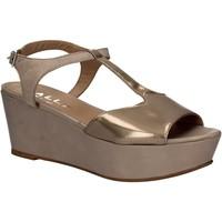 Pantofi Femei Sandale  Mally 5667 Gri