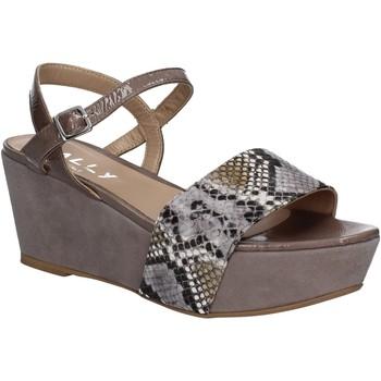 Pantofi Femei Sandale  Mally 5671 Gri