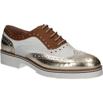 Pantofi Femei Pantofi Oxford Mally 5813 Aur