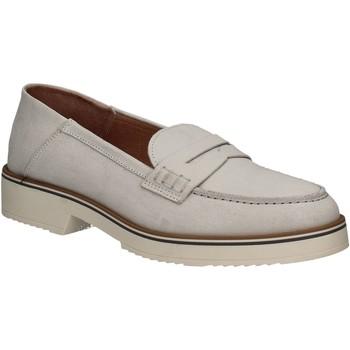 Pantofi Femei Mocasini Mally 5876 Argint