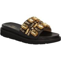 Pantofi Femei Șlapi Byblos Blu 672102 Negru
