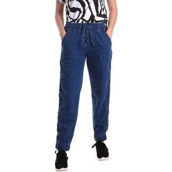 Îmbracaminte Femei Jeans drepti Fornarina BE171L93D883SK Albastru
