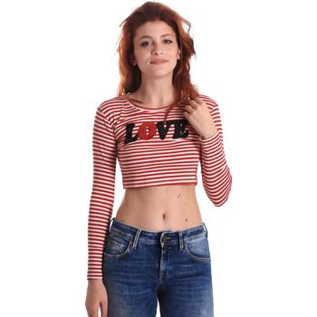 Îmbracaminte Femei Tricouri cu mânecă lungă  Fornarina BE175L14JG0976 Roșu