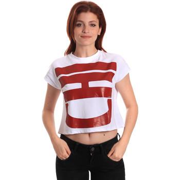 Îmbracaminte Femei Tricouri mânecă scurtă Fornarina BE175L31JG0709 Alb
