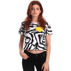 Îmbracaminte Femei Tricouri mânecă scurtă Fornarina BE175L35JG0700 Negru