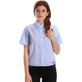 Îmbracaminte Femei Cămăși și Bluze Fornarina SE174567CA1218 Albastru