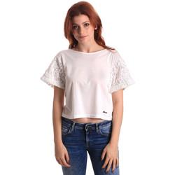 Îmbracaminte Femei Topuri și Bluze Fornarina SE175J88JG1309 Alb