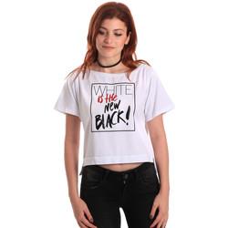 Îmbracaminte Femei Tricouri mânecă scurtă Fornarina SE175L28JG0709 Alb