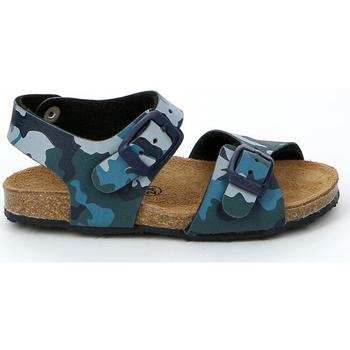 Pantofi Copii Sandale  Grunland SB0911 Albastru