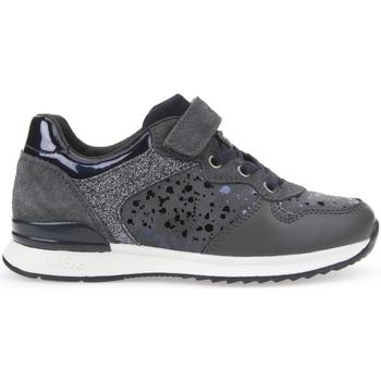 Pantofi Fete Pantofi sport Casual Geox J6403E 0JS22 Gri