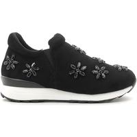 Pantofi Fete Pantofi Slip on Holalà HS040001S Negru