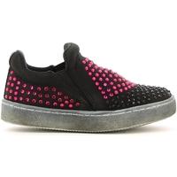 Pantofi Fete Pantofi Slip on Lulu LS150024T Negru