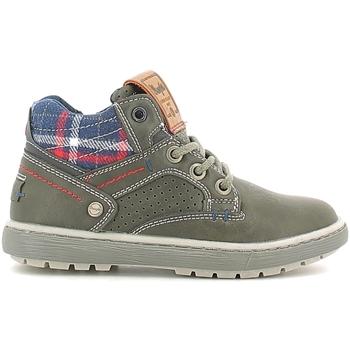 Pantofi Copii Ghete Wrangler WJ16238B Negru