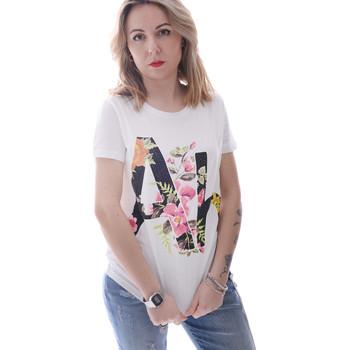 Îmbracaminte Femei Tricouri mânecă scurtă Fracomina FR20SP368 Alb