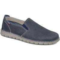 Pantofi Bărbați Pantofi Slip on CallagHan 84701 Albastru