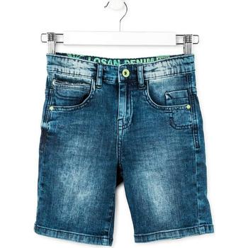 Îmbracaminte Băieți Pantaloni scurti și Bermuda Losan 713 9006AA Albastru