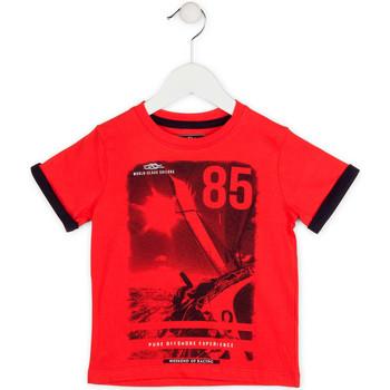 Îmbracaminte Băieți Tricouri mânecă scurtă Losan 715 1001AC Roșu