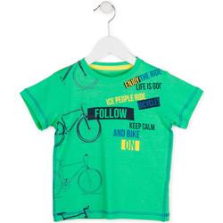 Îmbracaminte Băieți Tricouri mânecă scurtă Losan 715 1014AC Verde
