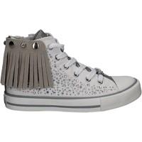 Pantofi Fete Pantofi sport stil gheata Lulu LV010072S Alb