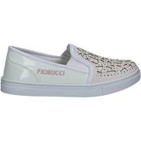 Pantofi Fete Pantofi Slip on Fiorucci FKEO044 Alb