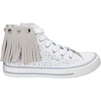Pantofi Fete Pantofi sport stil gheata Lulu LV010074T Alb