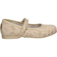 Pantofi Fete Balerin și Balerini cu curea Melania ME2105D7E.C Bej