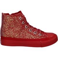 Pantofi Fete Pantofi sport stil gheata Lulu LV010077S Roșu