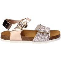 Pantofi Fete Sandale  Bamboo BAM-218 Alb