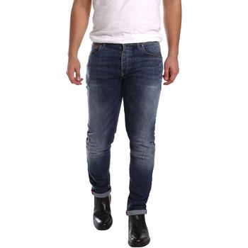 Îmbracaminte Bărbați Jeans slim 3D P3D1 2659 Albastru
