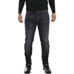 Îmbracaminte Bărbați Jeans slim 3D P3D1 2667 Albastru