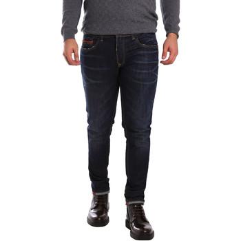 Îmbracaminte Bărbați Jeans slim 3D P3D6 2659 Albastru