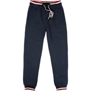 Îmbracaminte Bărbați Pantaloni de trening Key Up SF24 0001 Albastru
