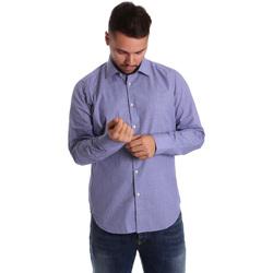 Îmbracaminte Bărbați Cămăsi mânecă lungă Gmf 972160/04 Albastru