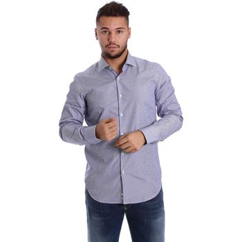 Îmbracaminte Bărbați Cămăsi mânecă lungă Gmf 972906/04 Albastru