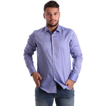 Îmbracaminte Bărbați Cămăsi mânecă lungă Gmf 972103/05 Albastru